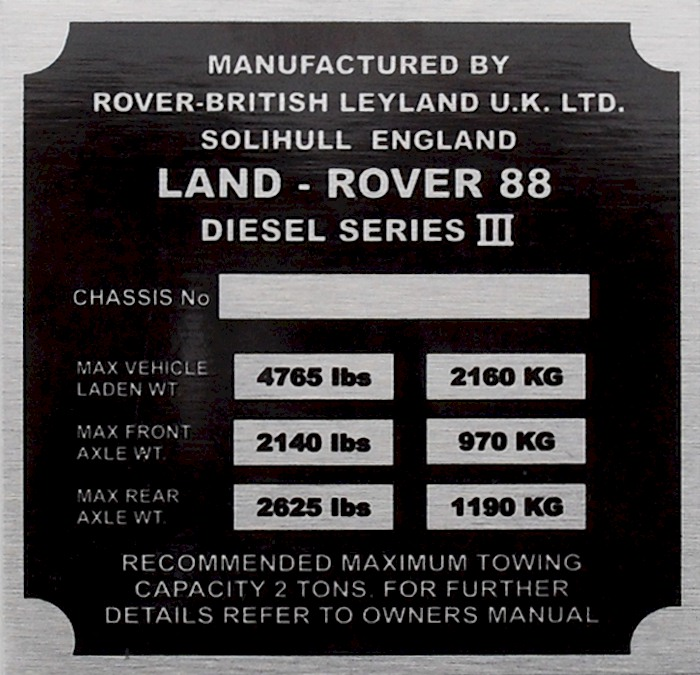 Land rover vin number lookup usa